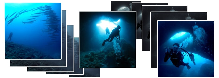 ダイビング風景1