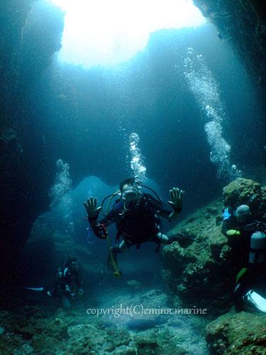 宮古島ならワイドダイビングも良いってもんです。