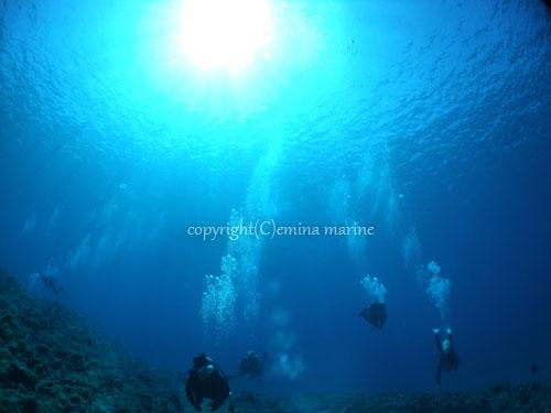 透明度抜群の宮古島