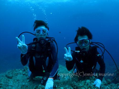 宮古島体験ダイビング3